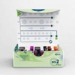 Membrane protein quantitation - MS2Plex kits