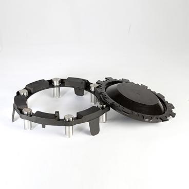 Metal tubes holder